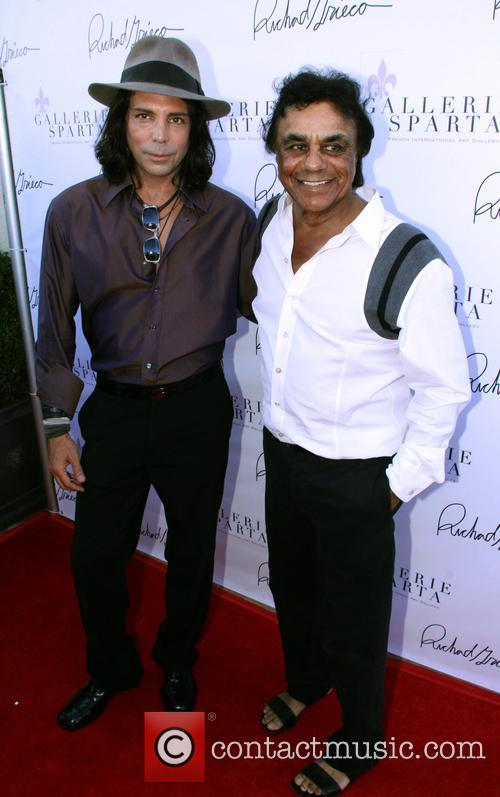 Richard Grieco and Johnny Mathis 2