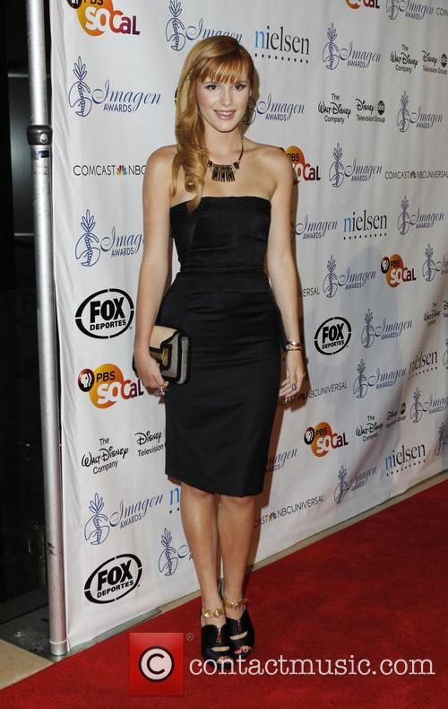 Bella Thorne, Beverly Hilton Hotel, Imagen Awards