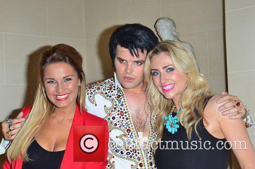Sam Faiers, 'Elvis' and Gemma Merna 1