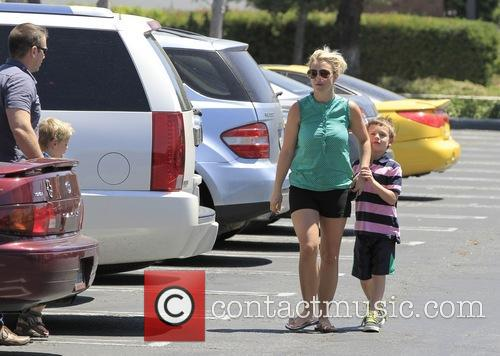 Britney Spears, Sean Federline and Jayden James Federline 3