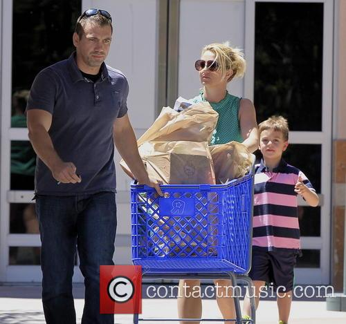 Britney Spears, Sean Federline and Jayden James Federline 1