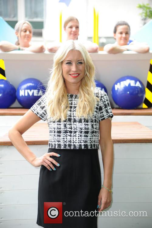 Denise Van Outen launches Niveas dare to dip...