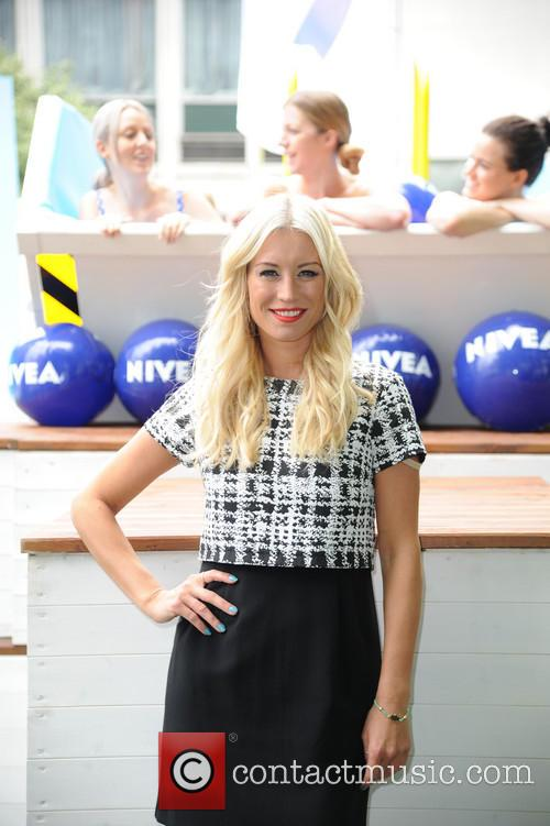 Denise Van Outen launches Niveas dare to dip Ultimate Pool Party