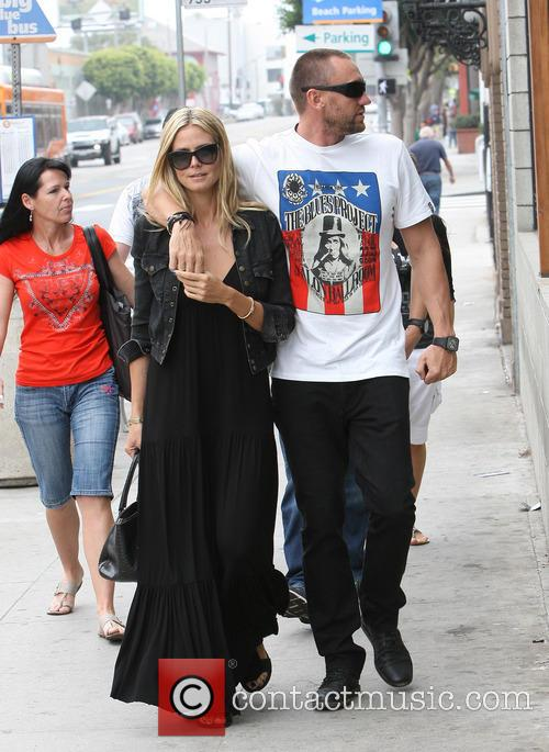 Heidi Klum and boyfriend Martin Kristen enjoy alone...