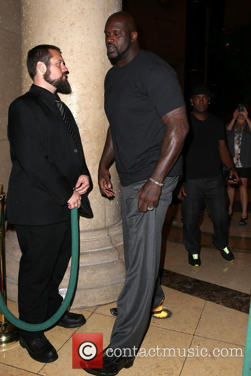 Shaq Hosts at LAVO Las Vegas