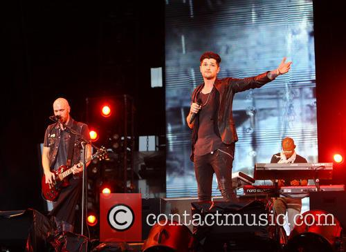 Danny O'Donoghue, Mark Sheehan and The Script 1