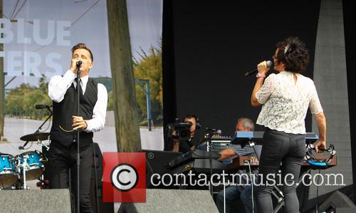 Ricky Ross, Lorraine Mcintosh and Deacon Blue 2