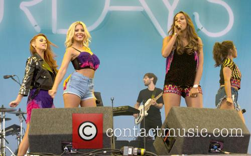 Mollie King, Una Healy, Vanessa White, Rochelle Humes and The Saturdays 2