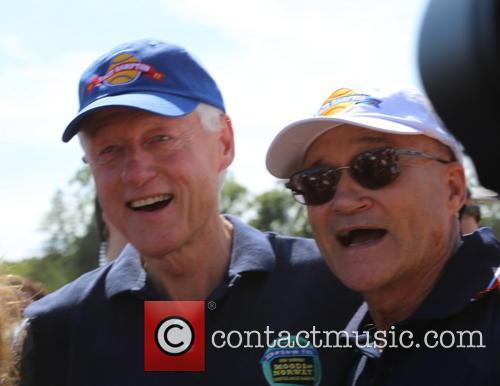 Bill Clinton and Ray Kelly
