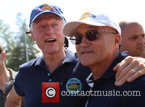 Bill Clinton and Ray Kelly 8