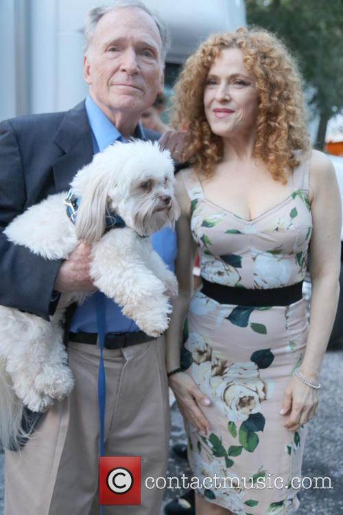 Dick Cavett and Bernadette Peters 1