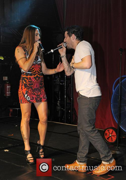 Melanie Chisholm and Matt Cardle 2