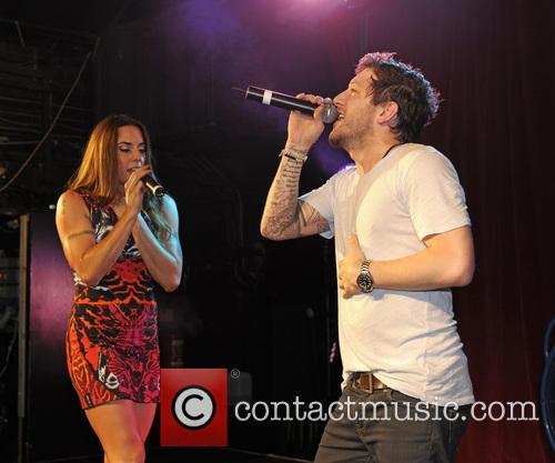 Melanie Chisholm and Matt Cardle 3