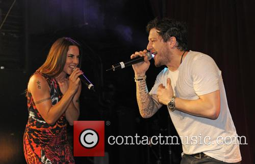 Melanie Chisholm and Matt Cardle 5