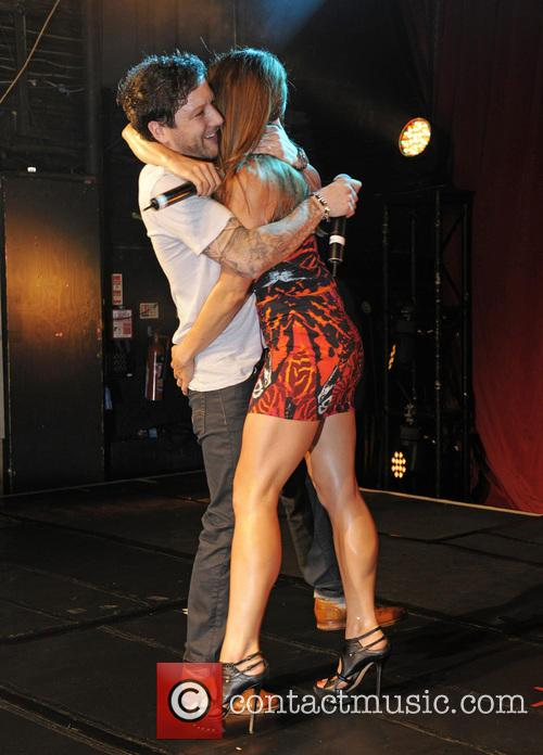 Melanie Chisholm and Matt Cardle 1