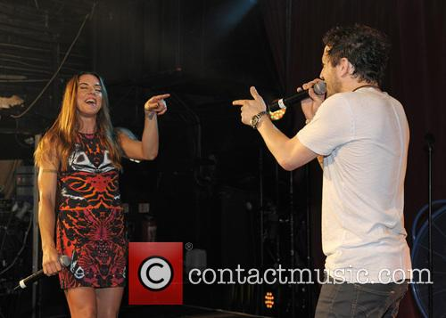 Melanie Chisholm and Matt Cardle 6