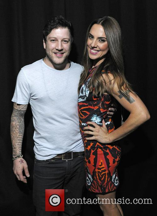 Melanie Chisholm and Matt Cardle 8