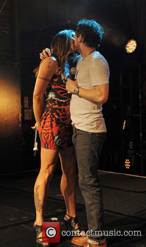 Melanie Chisholm and Matt Cardle 11