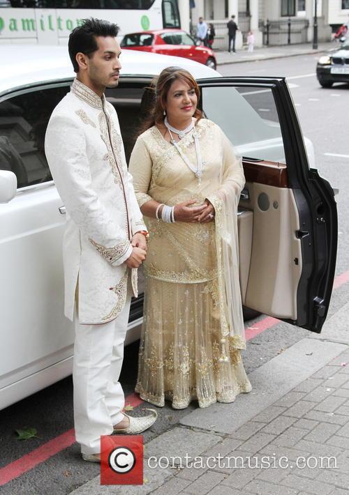 Wedding reception for Tasmin Lucia-Khan and Junaid Zaman