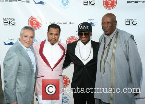 Stuart C. Synder, Johnny Nunez, Ne-yo and Louis Gossett Jr. 4