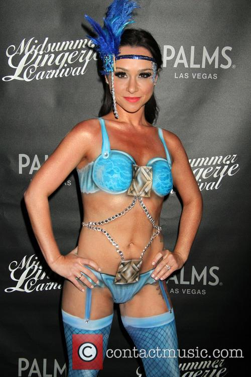Danielle Harris Midsummer Lingerie Carnival