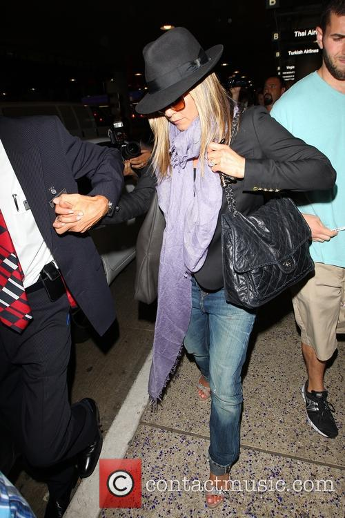 Jennifer Anniston at LAX