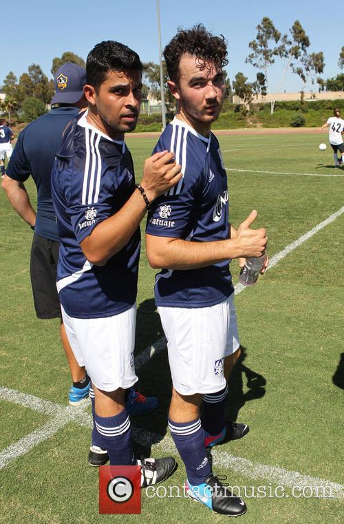 Wilmer Valderrama and Kevin Jonas 2