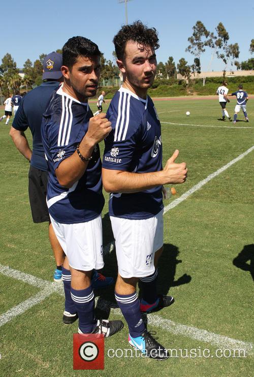 Wilmer Valderrama and Kevin Jonas 8