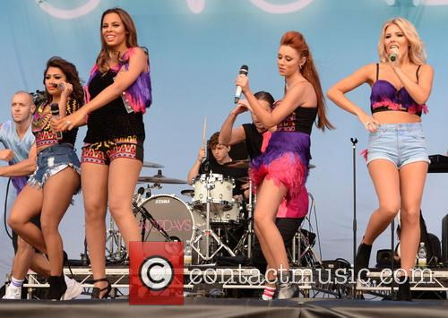 Mollie King, Una Healy, Rochelle Wiseman, Vanessa White and The Saturdays 2