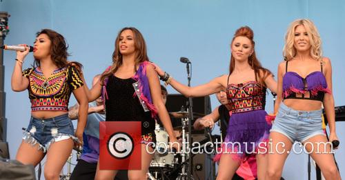 Mollie King, Una Healy, Rochelle Wiseman, Vanessa White and The Saturdays 3