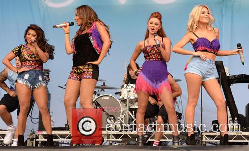 Mollie King, Una Healy, Rochelle Wiseman, Vanessa White and The Saturdays 4