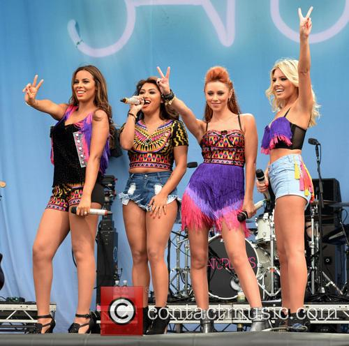 Mollie King, Una Healy, Rochelle Wiseman, Vanessa White and The Saturdays 1