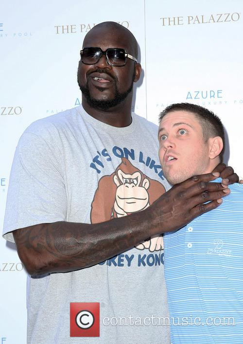 Shaquille O'Neal Pool Party at Azure Las Vegas