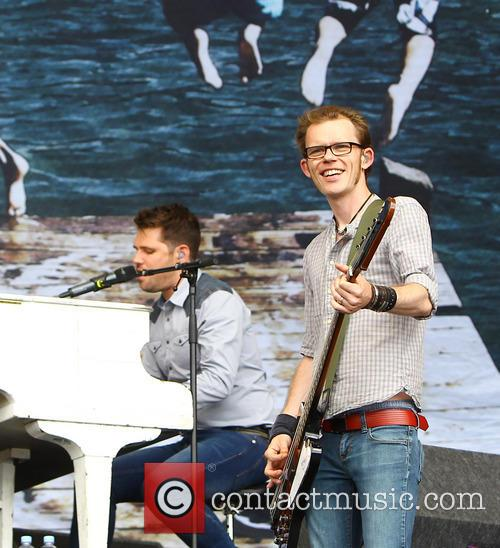 Roy Stride, Greg Chruchouse and Scouting For Girls 7