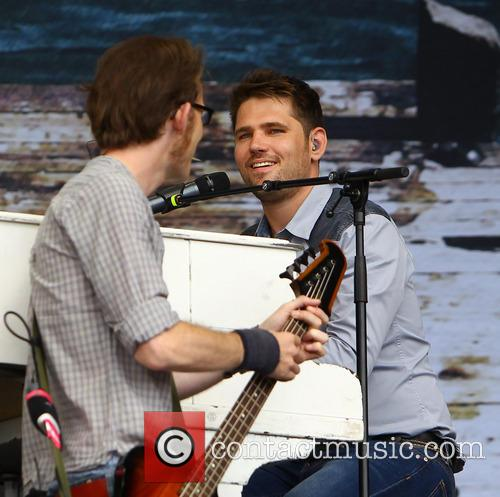 Roy Stride, Greg Chruchouse and Scouting For Girls 9