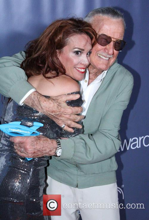 Stan Lee and Chase Masterson 3