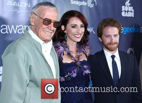 Stan Lee, Kristen Nedopak and Seth Green 5