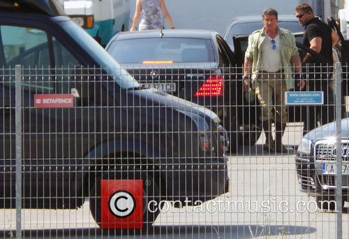 Expendables 3 film set