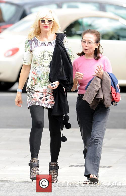 Gwen Stefani and Family 5