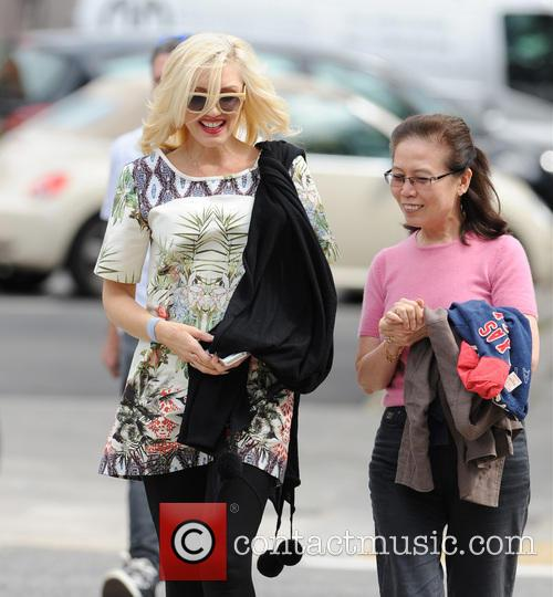 Gwen Stefani and Family 9