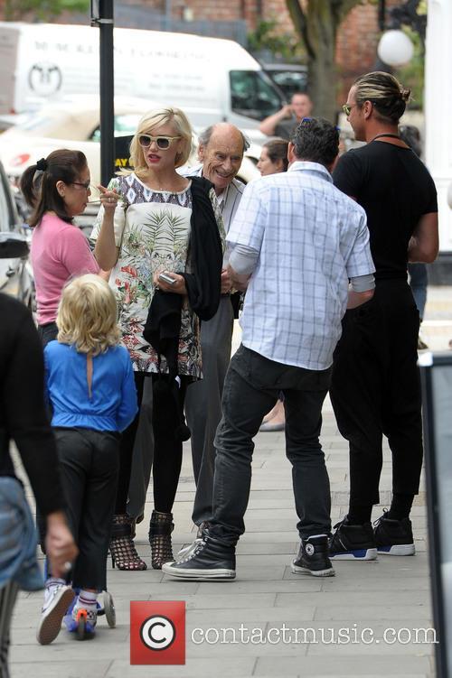 Gwen Stefani, Gavin Rossdale and Zuma Rossdale 5