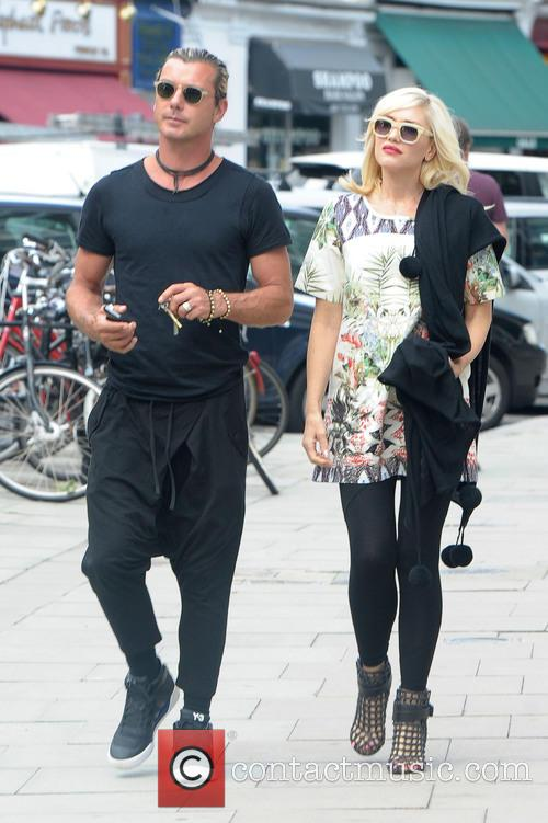Gwen Stefani and Gavin Rossdale out and about