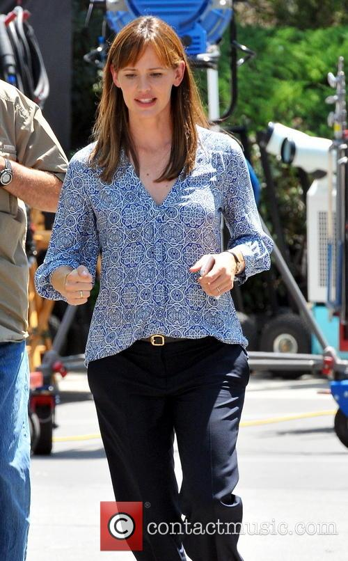 jennifer garner jennifer garner on the set 3823545