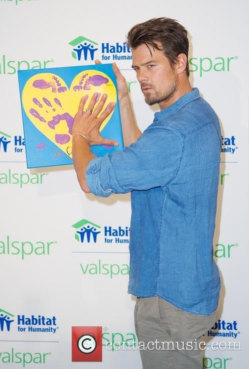josh duhamel handprints to be auction for 3823281