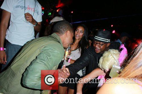 Bobby Brown and Trey Songz 5