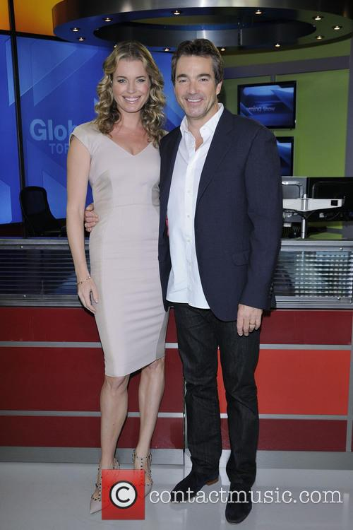 Rebbeca Romijn and Jon Tenney