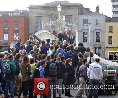 'Moone Boy' filiming in Dublin