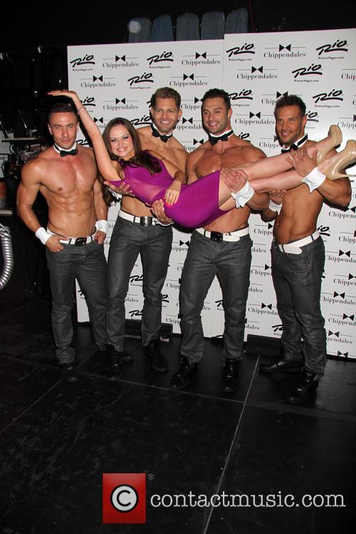 Shee' Dueitt and Chippendales 8