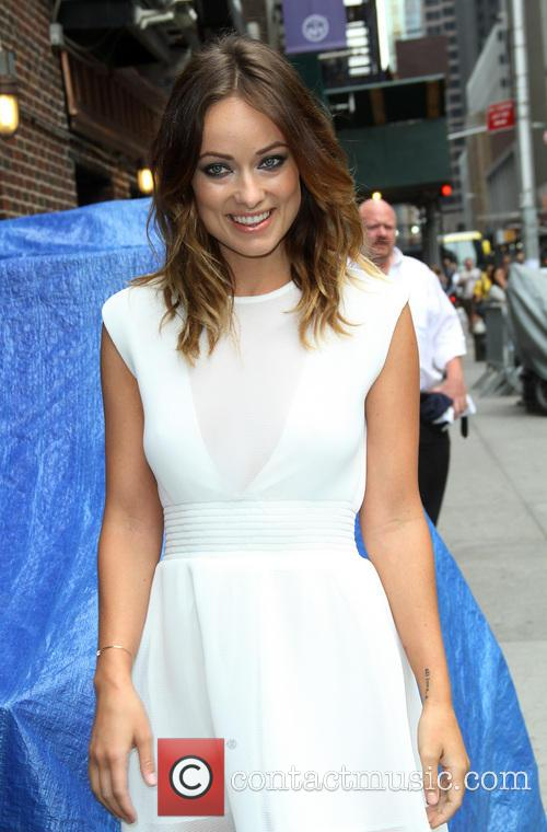 Olivia Wilde, Ed Sullivan Theater, The Late Show