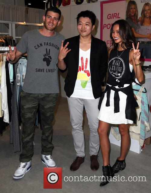 Bryan Greenberg, Jason Kim and Jamie Chung 1